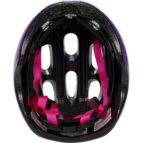 ABUS Youn-I Helmet Barn sparkling purple